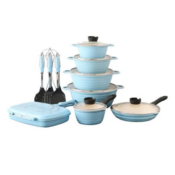 سرویس قابلمه ناسا 20 پارچه Nasa Cookware Set NS-6044A